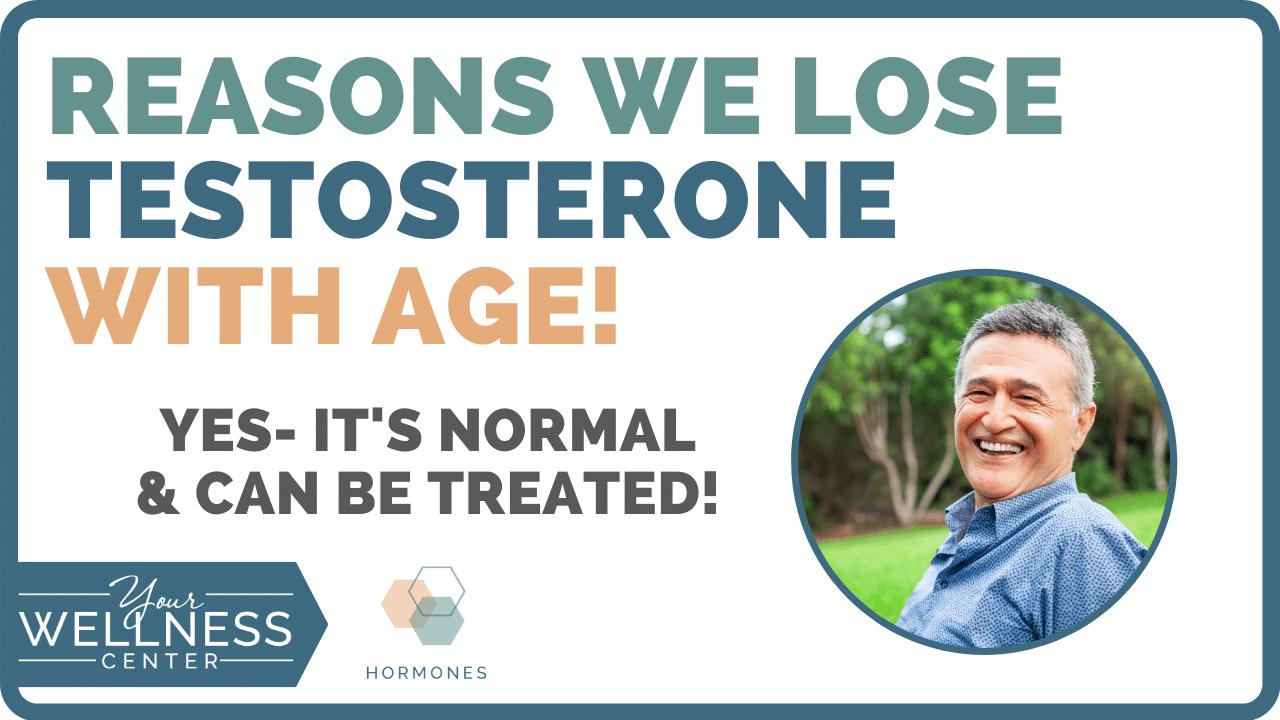 lose testosterone