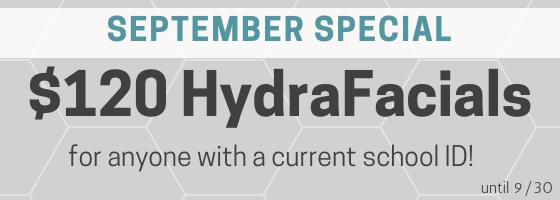hydrafacial sale