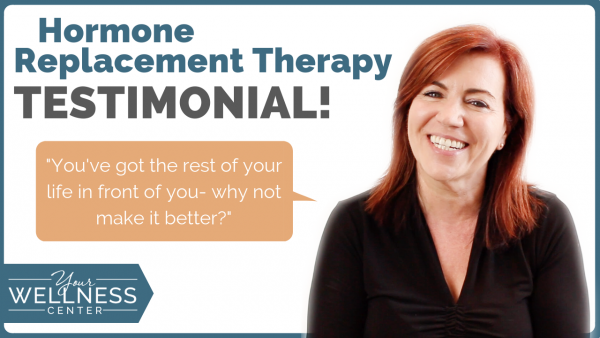 Hormone Replacement Therapy Testimonial: Vicky