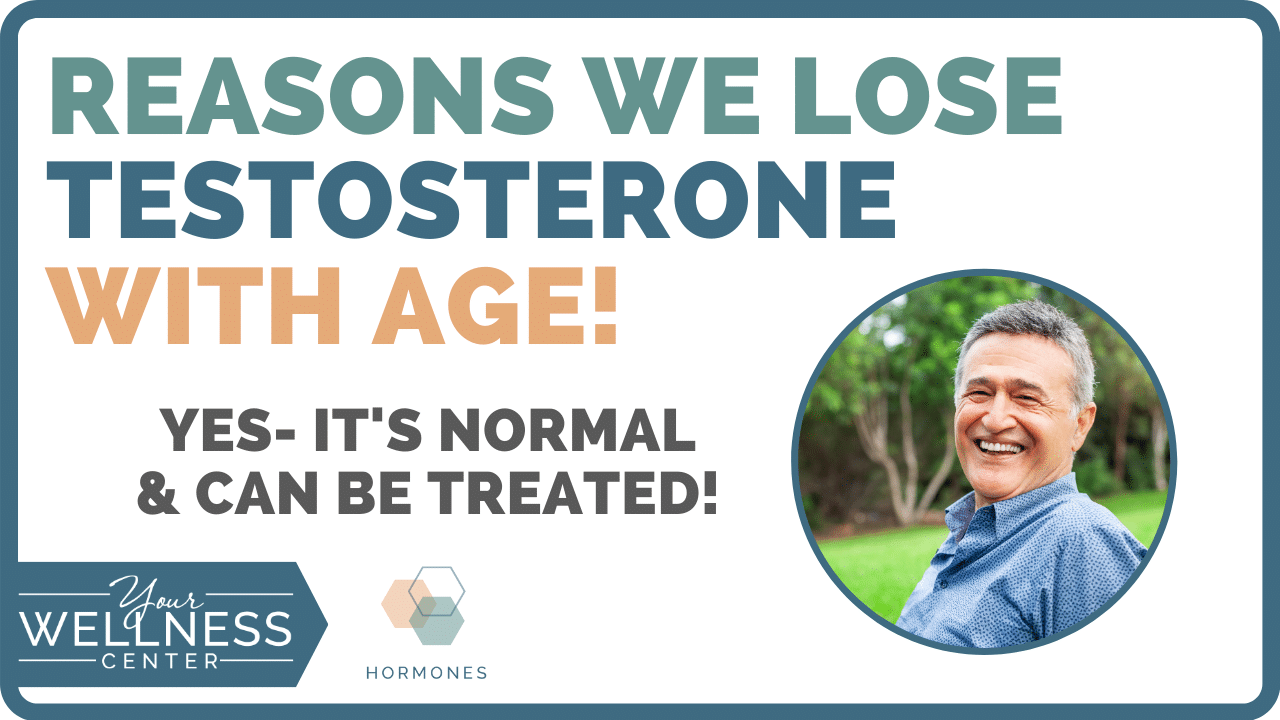 lose testosterone