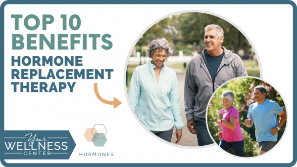 Top 10 Benefits of Hormone Replacement Therapy